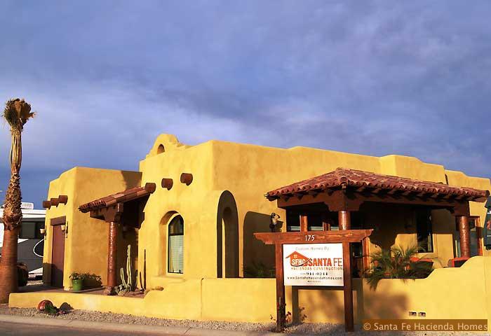 Santa Fe Hacienda Construction