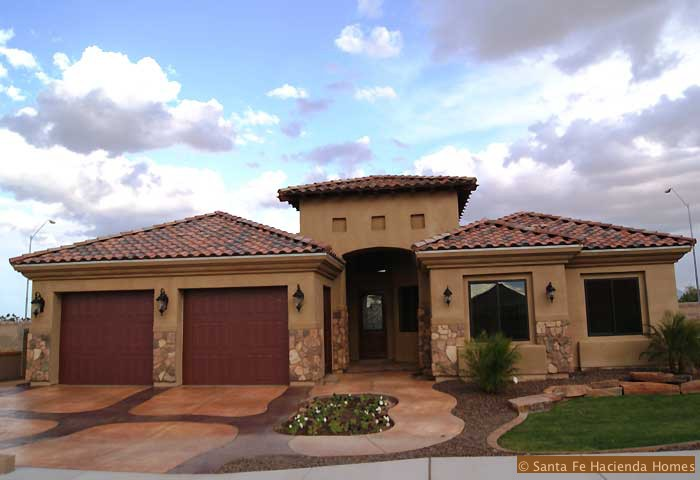 Santa Fe Hacienda Home Construction Quality Custom Built Yuma Homes